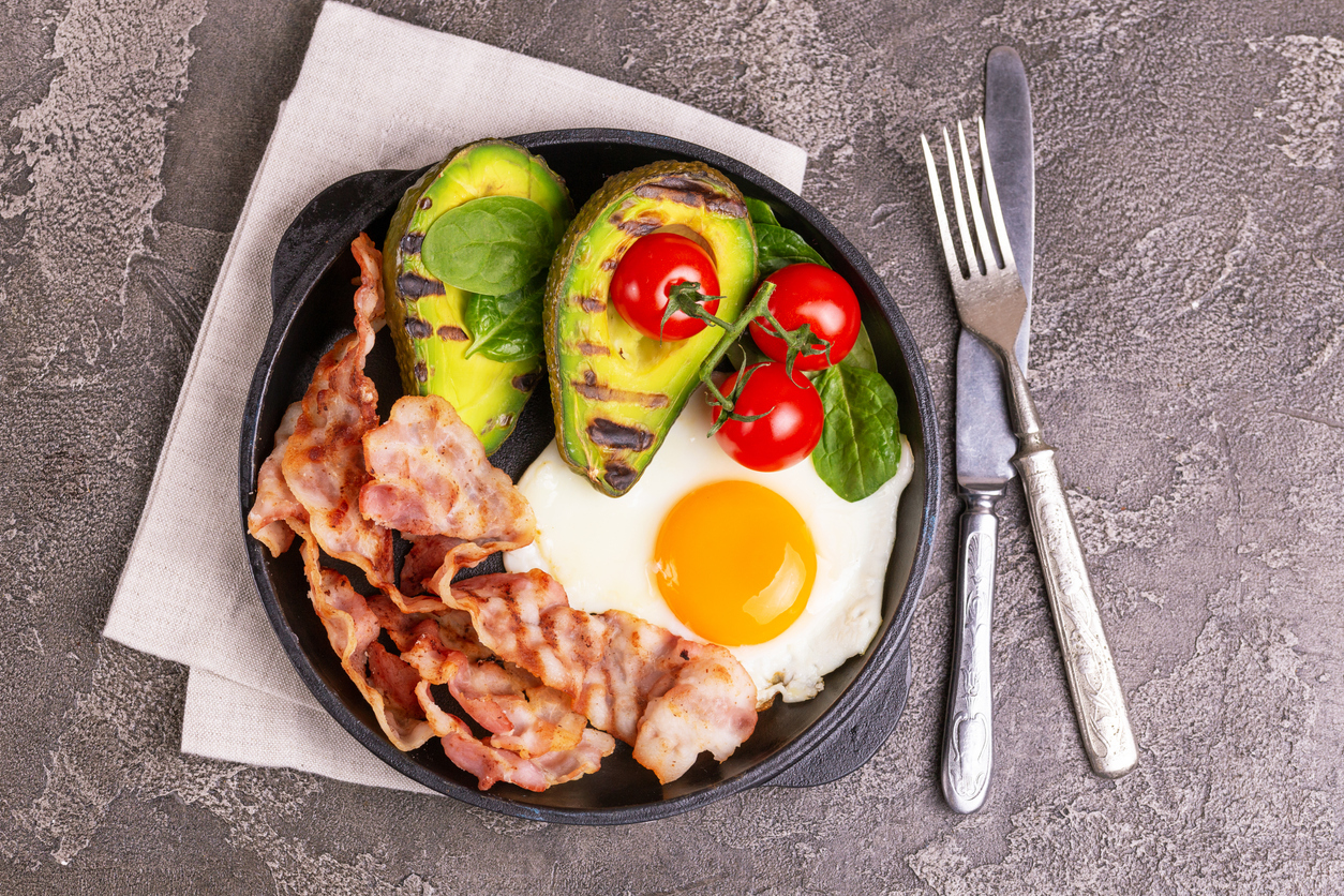 meal of low carbohydrate diet