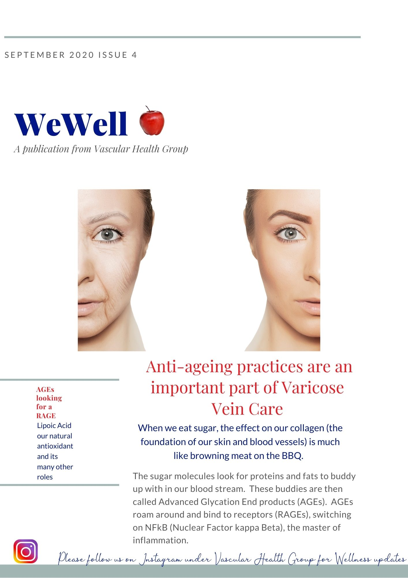 Vascular Health Group Newsletter WeWell Issue 4