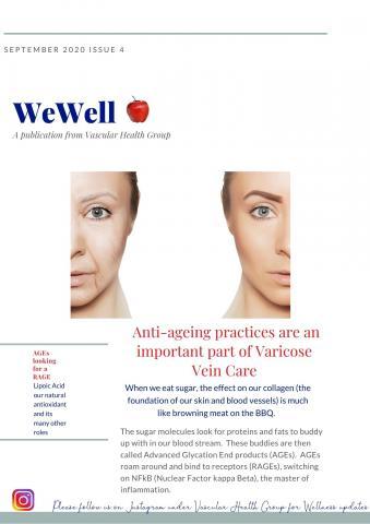 Vascular Health Group Newsletter WeWell Issue 4